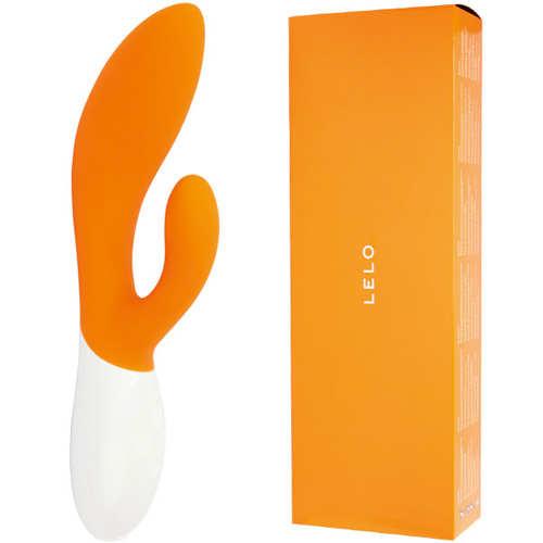 瑞典LELO-INA 2 Orange 伊娜二代 多功能雙震動按摩棒(橙色)