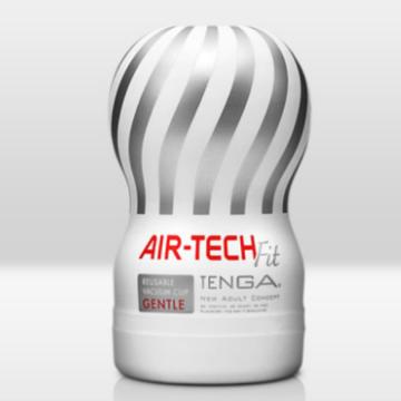 [重複使用] TENGA AIR-TECH FIT 空壓旋風飛機杯(柔軟版)