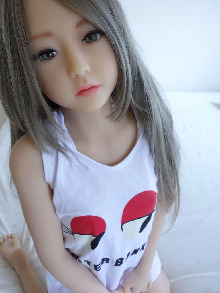 128cm【茉莉】 真人娃娃 金屬骨架全硅膠TPE(特殊平胸款)