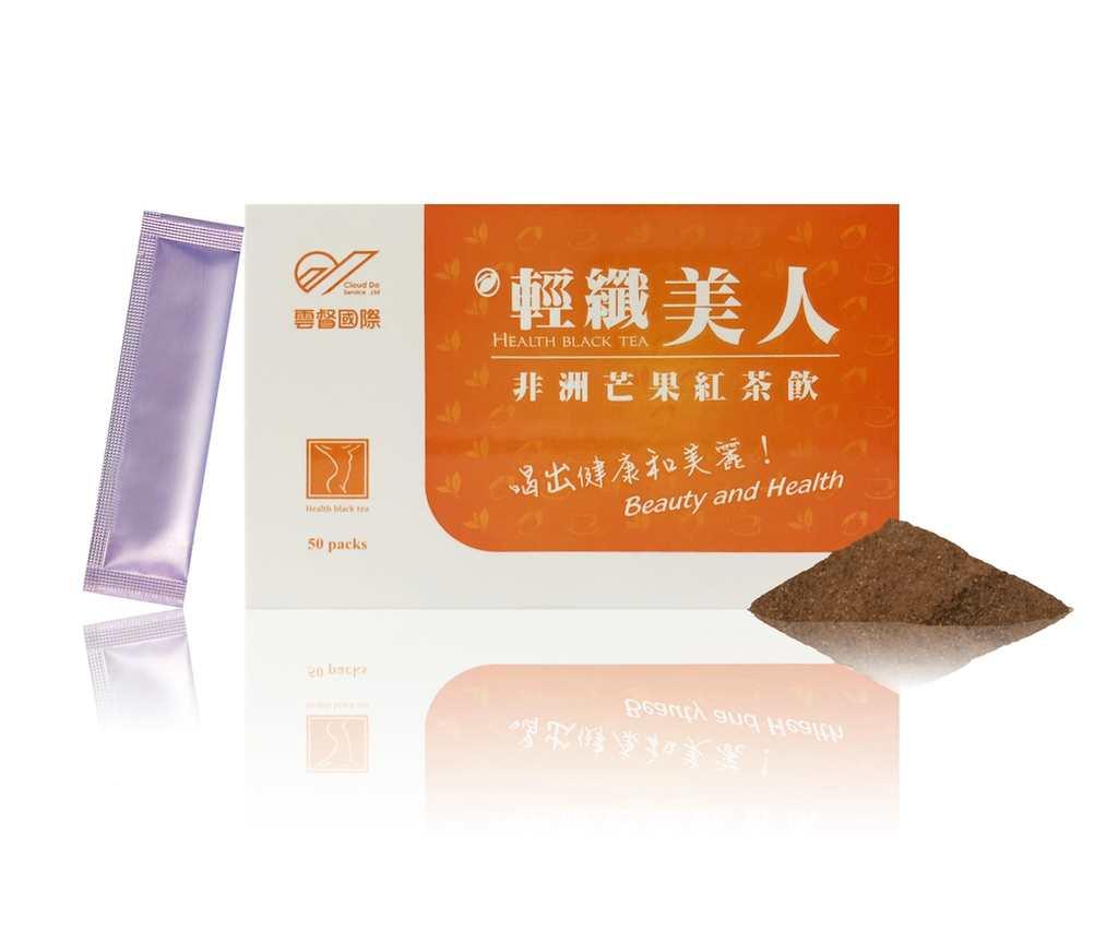 輕纖美人-非洲芒果紅茶飲 50入