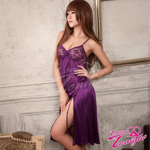 睡衣(愛在今夜)T1349-紫-F