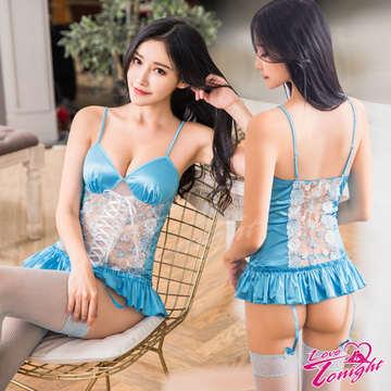 馬甲(愛在今夜)T1579-藍-四件