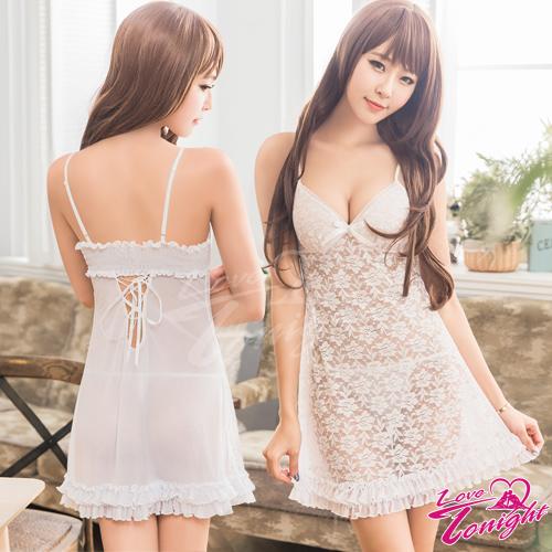 睡衣(愛在今夜)T1584-白-F