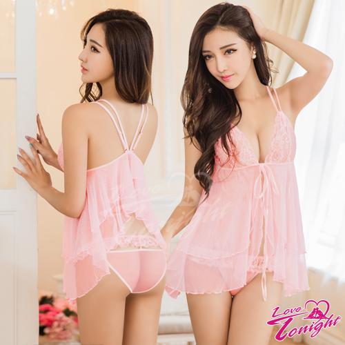 睡衣(愛在今夜)T1591-粉-F
