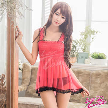 睡衣(愛在今夜)T1603-桃-F