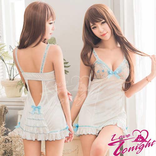 睡衣(愛在今夜)T1619-白-F