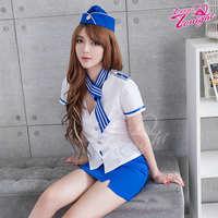 空姐服(愛在今夜)T9311-白藍-F