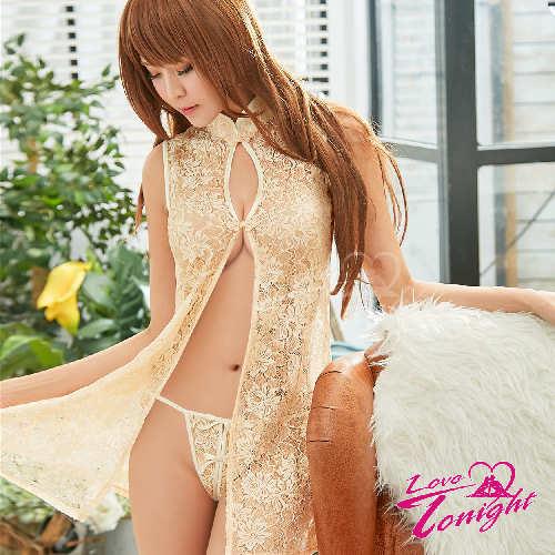 旗袍(愛在今夜)T9327-金-F