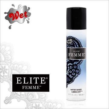 美國 Wet FEMME 水性尊寵潤滑液 30 ml