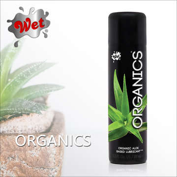 美國 Wet Organics 水性有機蘆薈潤滑液 89ml
