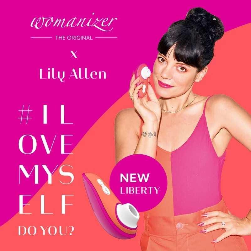 Womanizer|德國 LIBERTY 電動吸吮器 聯名限量版 - Lily Allen