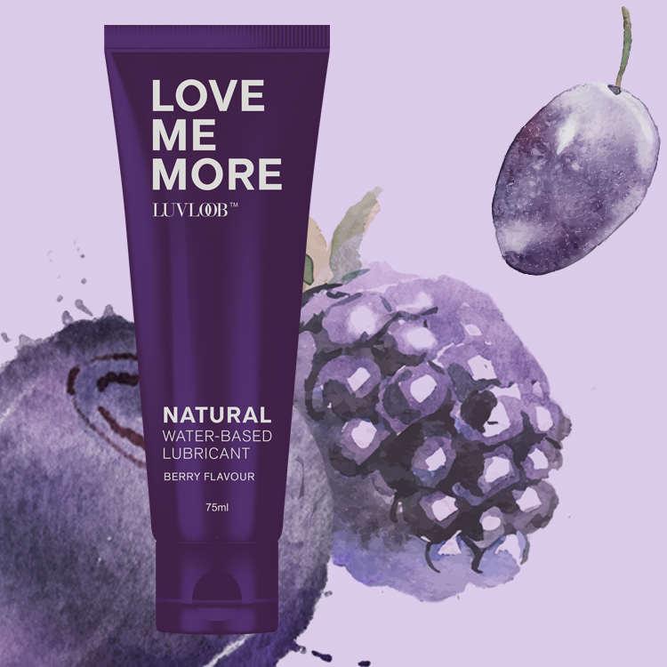 愛芙璐LUVLOOB潤滑液 75ml-水性莓果(可食用)