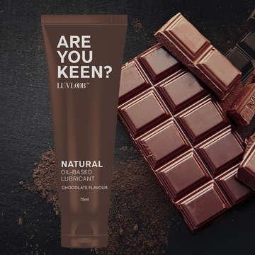愛芙璐LUVLOOB潤滑液 75ml-油性巧克力(可食用)