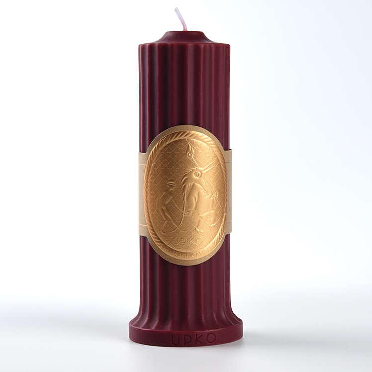 UPKO 低溫滴蠟蠟燭-酒紅