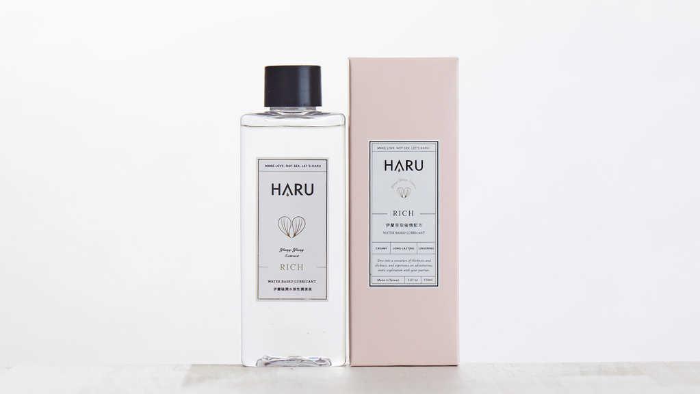 HARU|居家瓶|RICH伊蘭極潤濃郁潤滑液
