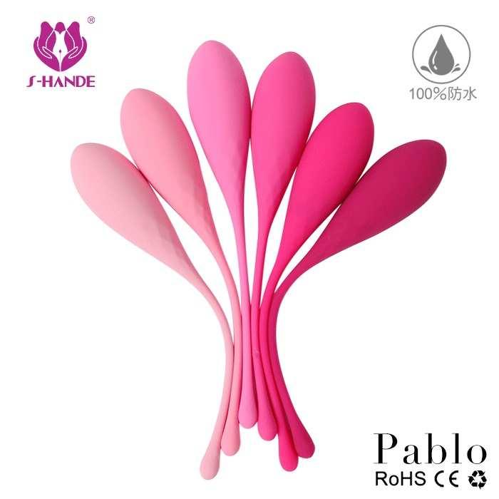 香港S-HANDE Pablo【防水/防菌】六階式凱格爾運動聰明球