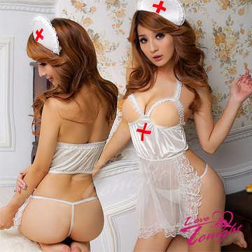護士服(愛在今夜)T9102-白-F