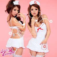 護士服(愛在今夜)T9125-白-F
