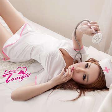 護士服(愛在今夜)T9234-白-F