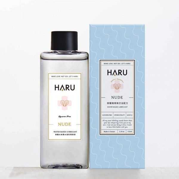 HARU-NUDE柳蘭水純愛水溶性潤滑液(無甘油)-155ml