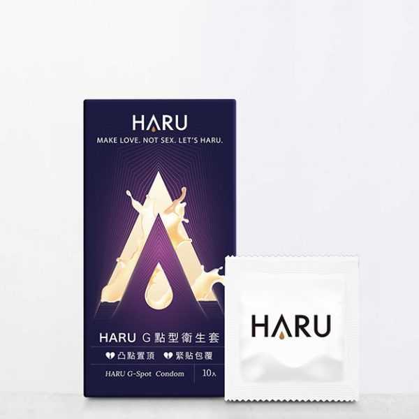 HARU-G SPOT G點型衛生套-10入組