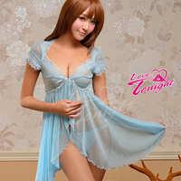 睡衣(愛在今夜)T1352-水藍-F