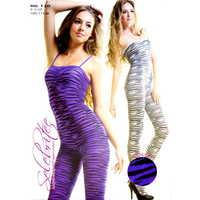 連身貓裝-120-紫-F