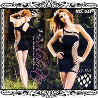 洋裝型貓裝-241-黑-F
