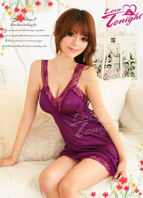 睡衣(愛在今夜)T1194-紫-F