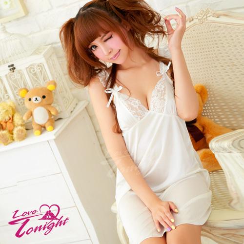睡衣T1204-白-F