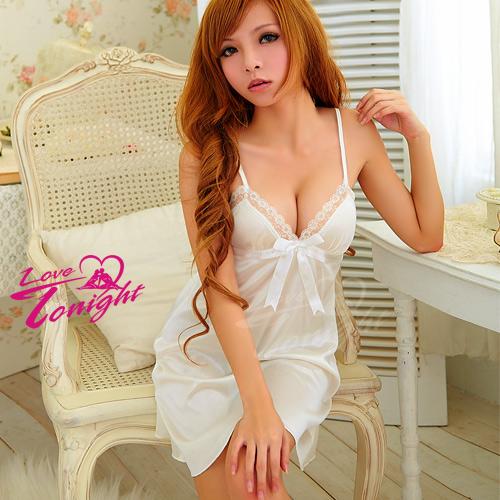 睡衣T1206-白-F