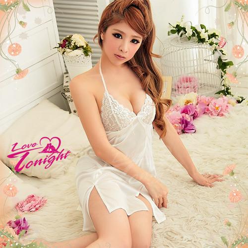 睡衣T1217-白-F