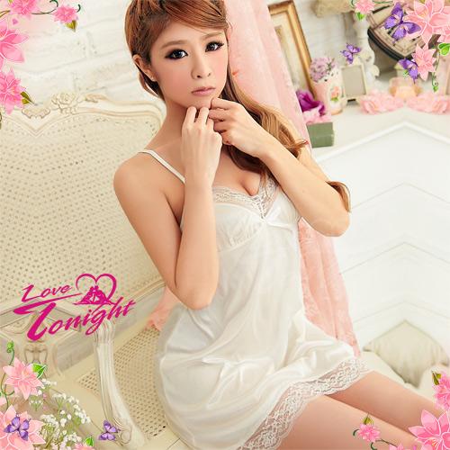 睡衣(愛在今夜)T1219-白-F