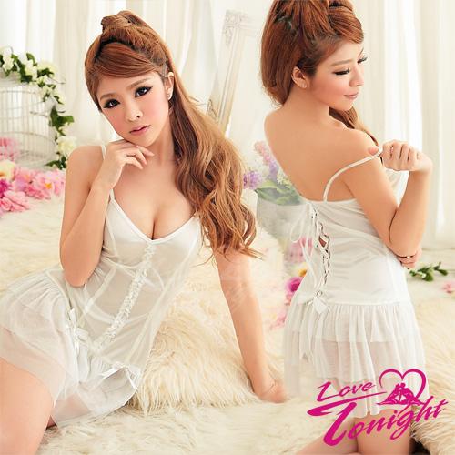 睡衣(愛在今夜)T1231-白-F