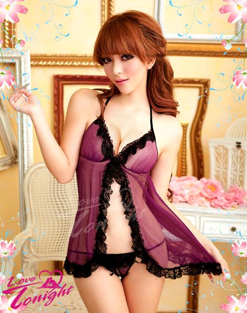 睡衣(愛在今夜)T1235-紫-F