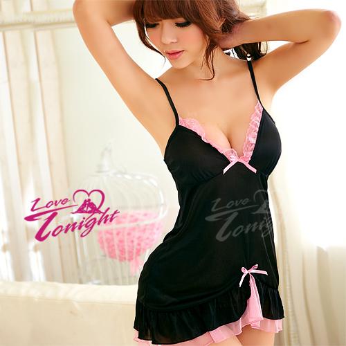 睡衣(愛在今夜)T1250-黑-F