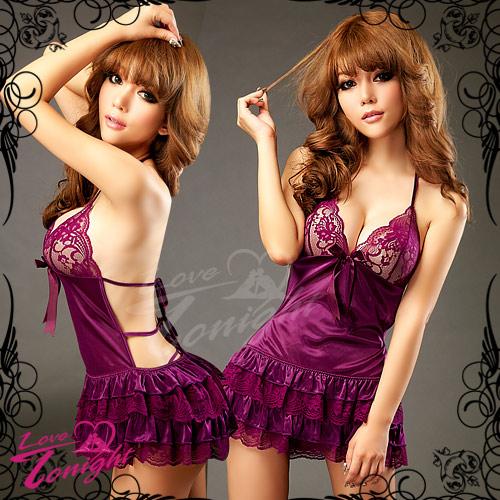 睡衣T1265-紫-F