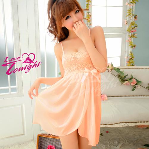 睡衣T1272-粉橘-F