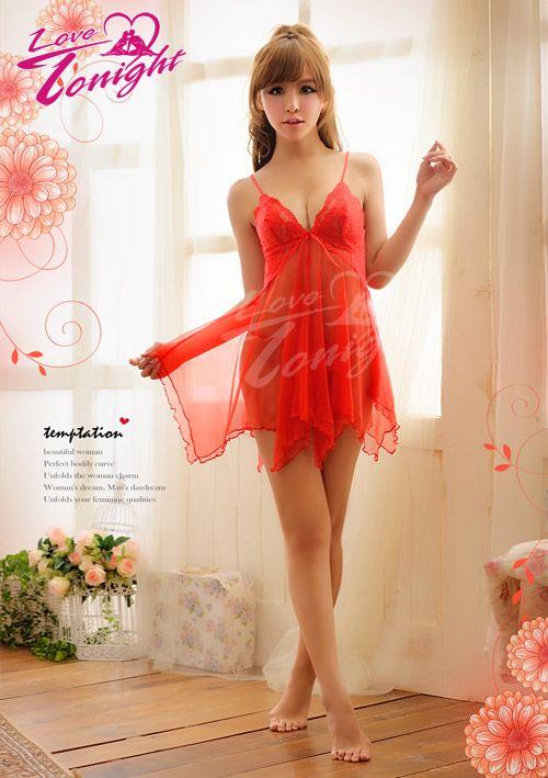 睡衣(愛在今夜)T1311-紅-F