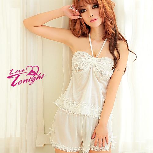 睡衣(愛在今夜)T1343-白-F