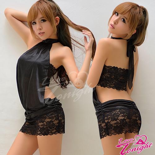 睡衣(愛在今夜)T1368-黑-F