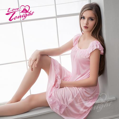 睡衣T1384-粉-L