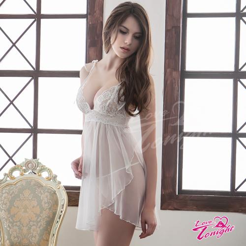 睡衣T1417-白-L