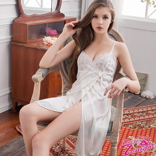 睡衣(愛在今夜)T1437-白-L