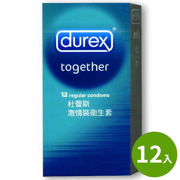 杜蕾斯Durex保險套-激情裝(12入)