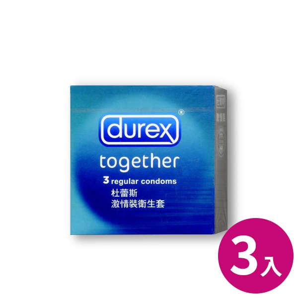 杜蕾斯Durex保險套-激情裝(3入)