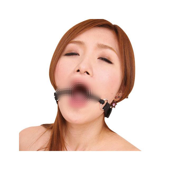 SM精選.虜高級金輪口枷
