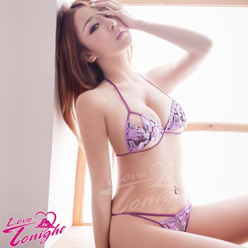 比基尼(愛在今夜)T3164-紫+丁