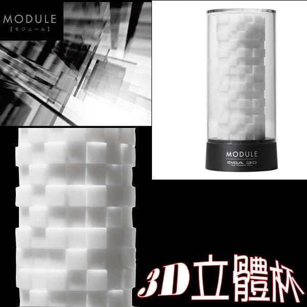 【重複使用】TENGA 3D立體杯(方塊形)TNH-002