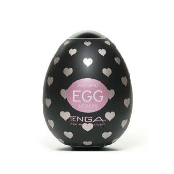 【彈力矽膠】TENGA EGG-001 挺趣蛋〈愛心型〉
